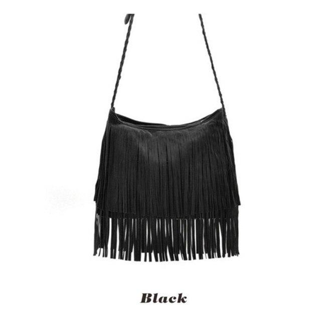 Women Bag Handbags Tote Over Shoulder Crossbody Sling Summer Tassel Purses Long Large Capacity Female