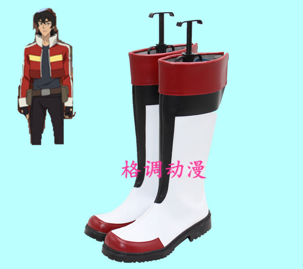 Voltron: Legendary Defender Keith Long Cosplay Shoes Cosplay Boots 33-48 SIZE