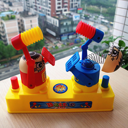 صدمة لعب للأطفال مضحك شخص مزدوج لعبة مكافحة الإجهاد لعبة للأطفال حزب المرح لعبة المزحة نكت للأطفال هدية