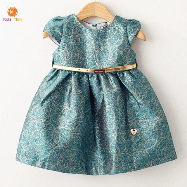 c14f446b5 Fahion 2015 Spring Autumn Girls Dresses Luxury Baby Clothes Dress ...
