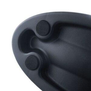 Image 5 - חדש שחור אופני אופניים אנטי סליפ מאמן להציב בלוקים גלגל קדמי תמיכה Riser בלוק כלי הרכבה פלאט עבור אופניים מאמני