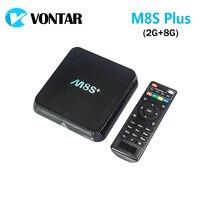 Original M8S Plus TV Box Amlogic S812 Quad Core Android 4 4 2 4G 5G Wifi