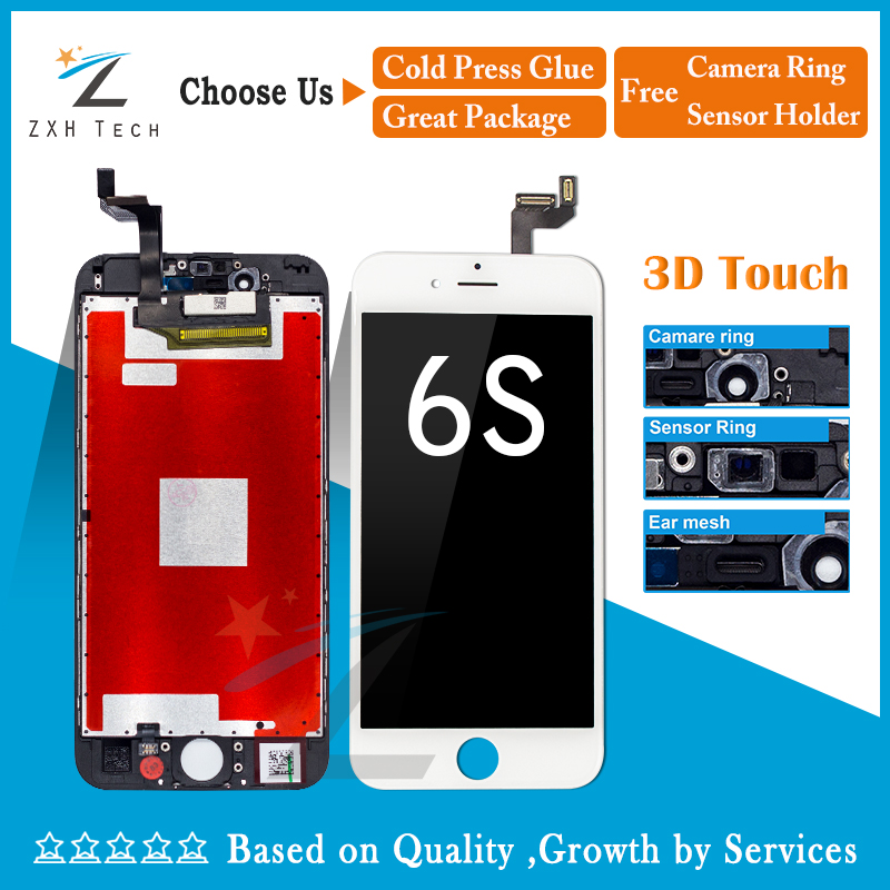 10PCS LOT 100 Guarante A Replacement LCD For iPhone 6s LCD with Digitizer Assembly LCD