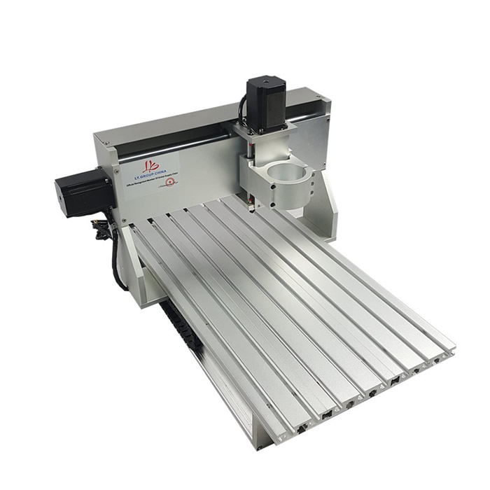mini cnc router 3040 CNC frame With stepper motor for diy aluminum parts hot selling small equipment business with stepper motor cnc router 600 900mm 600 400mm
