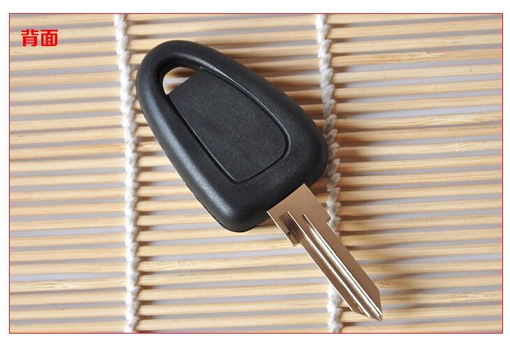 Original högkvalitativt Transponder Key Shell-fodral för Fiat Iveco Ducato Fob nyckel tom 20PCS / lot