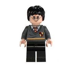 Venta única Harri Potter juguete personajes de película Ron Hermione Voldemort bloques de construcción de ladrillo figuras regalo juguetes para los niños