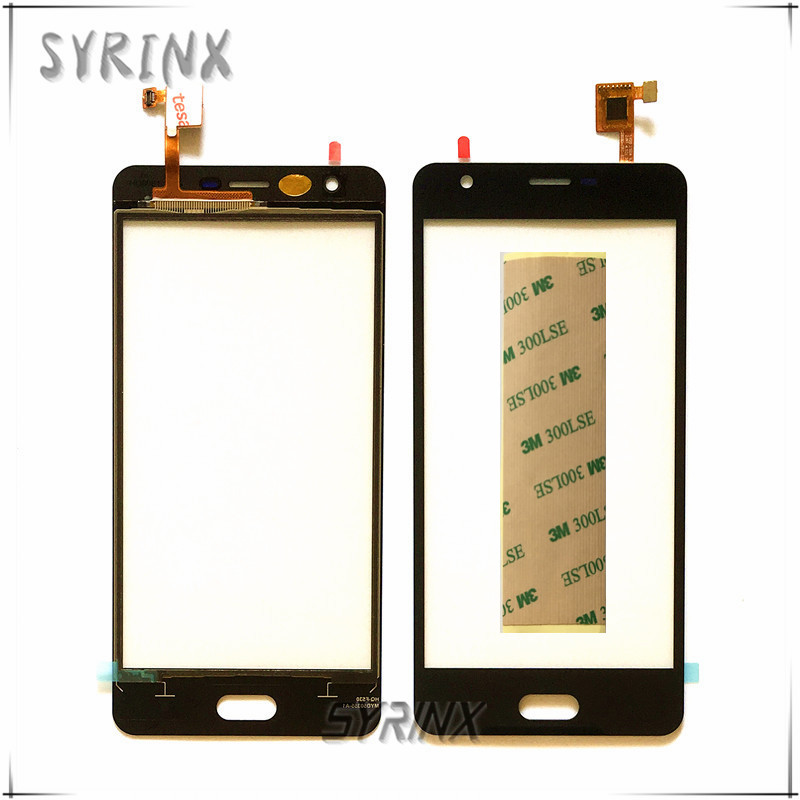 Syrinx con 3 m cinta Sensor de pantalla táctil del teléfono móvil para doogee X20 pantalla táctil digitalizador pantalla táctil vidrio lente touchpad