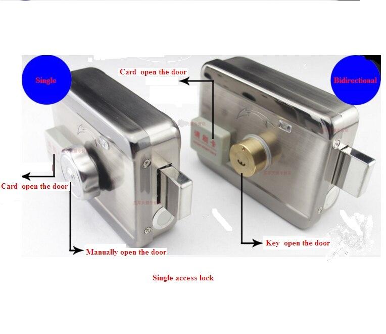 A distanza di controllo di accesso serratura elettronica RF sistema di Controllo di Accesso Elettronico integrato RFID Porta serratura Cerchio con lettore RFIDA distanza di controllo di accesso serratura elettronica RF sistema di Controllo di Accesso Elettronico integrato RFID Porta serratura Cerchio con lettore RFID