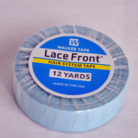 1.27cm*12Yards Blue Hair Extensions Double Sided Adhesives Tape For Tape Extensions/Toupee/Lace Wigs