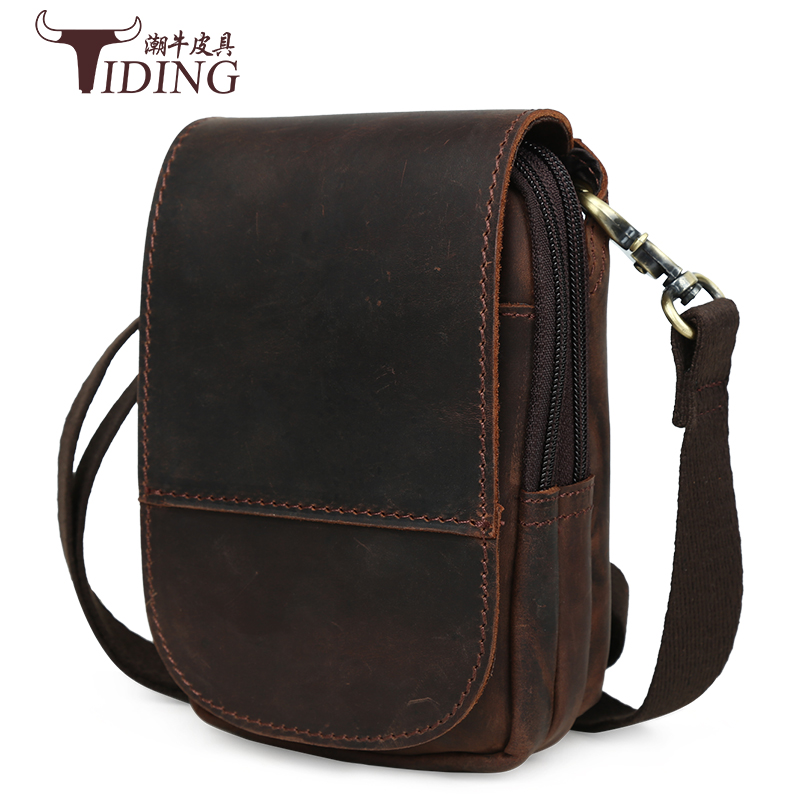 men shoulder bags real leather 2017 new man travel  small fashion brand waist bags cow leather mini mobile bags male men shoulder bags real leather 2017 new man travel  small fashion brand waist bags cow leather mini mobile bags male