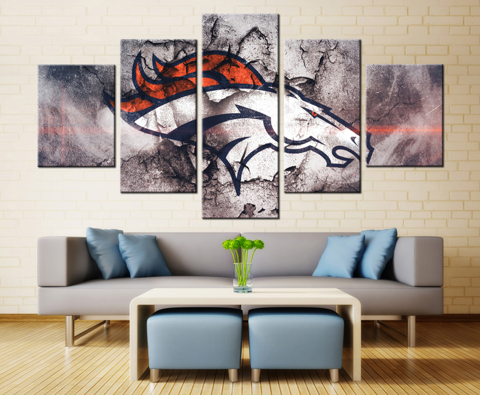 Broncos Wall Art broncos football pictures promotion-shop for promotional broncos