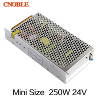 250W 24V 10A Mini Size Single Output Switching Power Supply For LED Strip Light