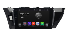 (Quad Core, 16GB Nand Flash)10.2 inch Screen Car DVD GPS Navigation for Toyota LEVIN  2013-2015 with Pure Android 4.4.4 System