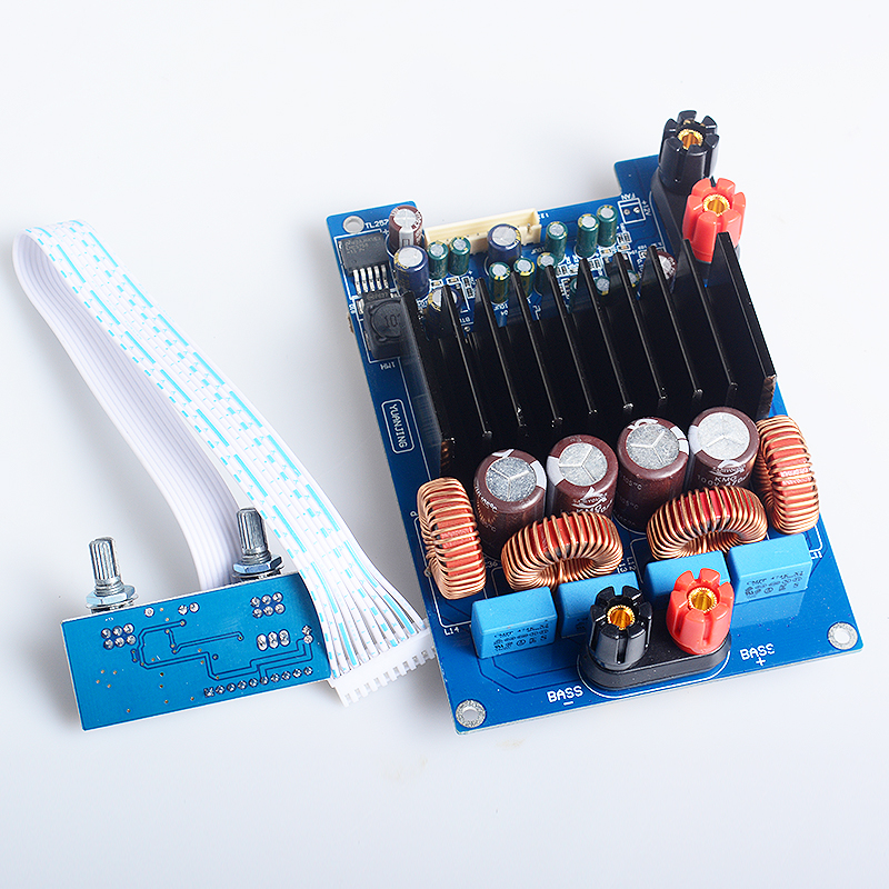YJHiFi OPA1632DR + TAS5630 + TL072 600w / 4ohm Class D Digital Subwoofer audio Amplifier Board DC48V
