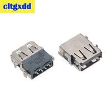 Cltgxdd 2 10 pcs מחשב נייד 2.0 USB שקע שקע נמל מחבר עבור Acer E1 571G 571G 5750 5755G Z ZG 5252 5551 נתונים ממשק