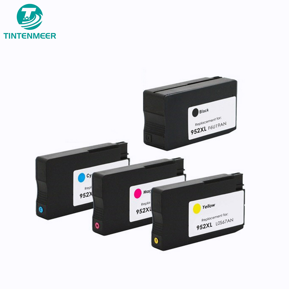 TINTENMEER Remanufactured ink cartridge 952 <font><b>952xl</b></font> compatible for hp 7740 8210 8216 8710 8715 8720 8725 8730 8740 printer image
