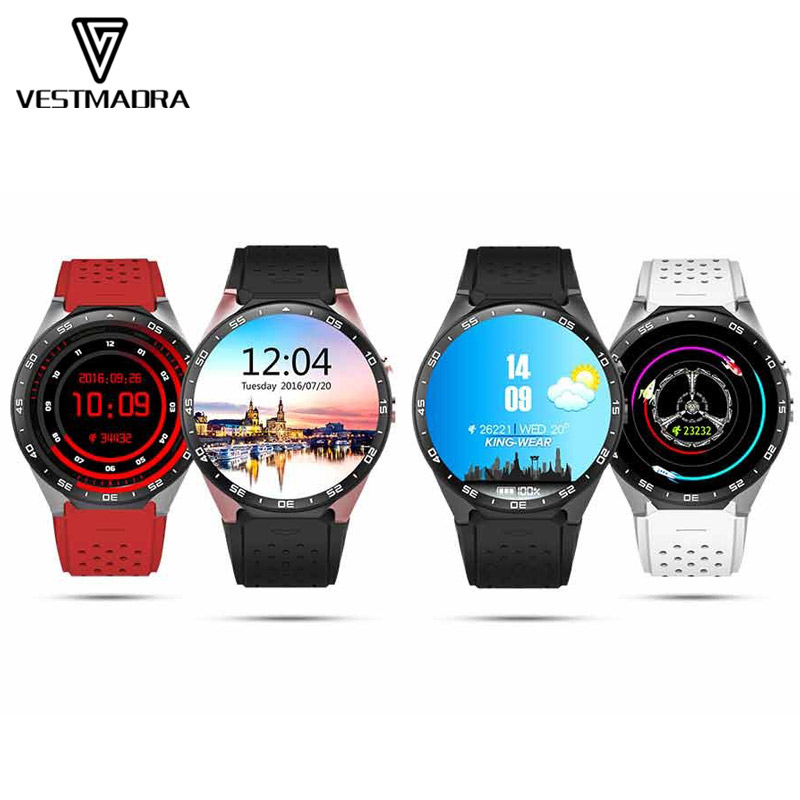 VESTMADRA Kw88 Android 5 1 OS Smart Watch Electronics Android 1 39 Inch Mtk6580 SmartWatch Phone