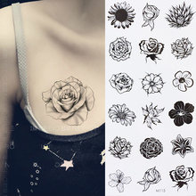 Sunflower Temporary Body Tattoo Daisy Flower Tattoos can be used for Shoulder,thigh, wrist