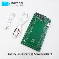 Bateria de carregamento rápido ativação placa teste dispositivo elétrico para iphone x xs max xr 4 5 6s 7 8 para samsung xiaomi huawei telefone android