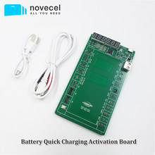 Battery Quick Charging Activation Board Test Fixture for iPhone X XS MAX XR 4 5 6 6s 7 8 for Samsung xiaomi Huawei Android Phone(China)