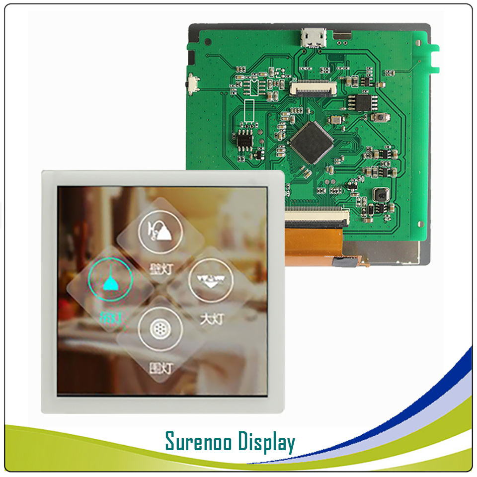 4 0 inch 720 720 RGB Parallel 18 Bits TFT LCD Module Display Screen w Capacitive