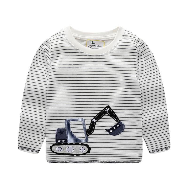 HTB1YOYKcqSs3KVjSZPiq6AsiVXaM Jumping meters Brand Boys T shirts Baby Clothes Cotton Long Sleeve Tees Cartoon New Cute Boys Girls T shirts Autumn Clothing