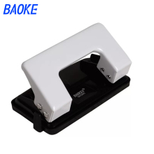 Card Paper Hole Punch DIY Craft Scrapbooking Hole Puncher Double Holes Handmade Cutter Student Office Binding Supplies DK1200 adjustable 3 hole punch ring album loose leaf paper cutter manual paper punches for scrapbooking office binding supplies