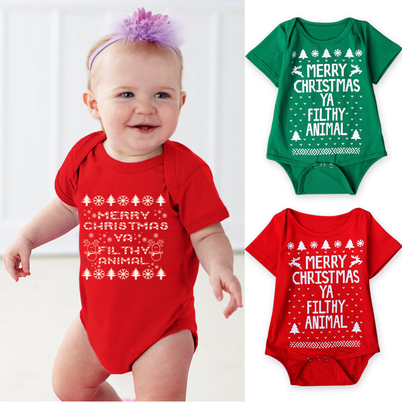 2017 New Baby Christmas Costume Autumn Summer Infant Baby Happy Christmas  Clothing Rompers Jumpsuit Clothes Outwear-in Clothing Sets from Mother &  Kids on ... - 2017 New Baby Christmas Costume Autumn Summer Infant Baby Happy