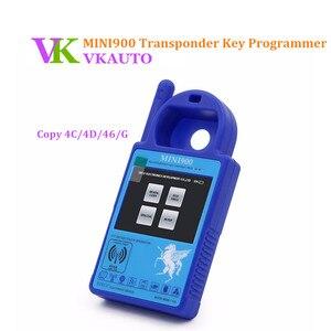 MINI900 programador de llave de coche Mini ND900 copia de llave para 4C 4D 46 y G Chips de actualización en línea envío gratis