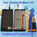 High Quality LCD Display + Digitizer Touch Screen Assembly For Xiaomi Redmi 1 Hongmi Redmi 1S Cellphone 4.7 inch Black Gifts