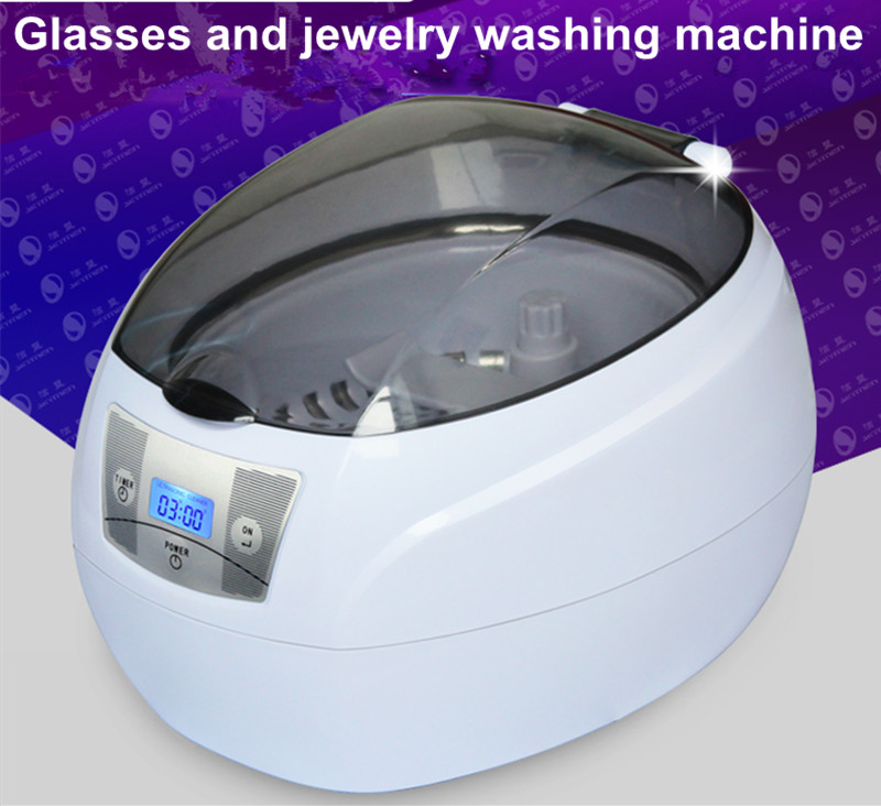 Mini ultrasonic cleaner glasses cleaner household jewelry watches dentures mobile phone motherboard ultrasonic cleaner HA208