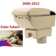 Для Chery A13 очень Celer fulwin подлокотник коробка центральный магазин содержание коробка для хранения с подстаканником пепельница аксессуары 2008- 2012