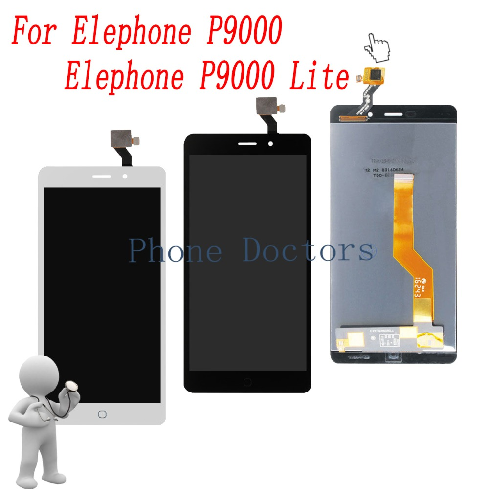 5.5 Touch Screen Digitizer Glass + LCD Display Assembly For Elephone P9000 LTE / P9000 Lite ; 100% Tested ; Tracking5.5 Touch Screen Digitizer Glass + LCD Display Assembly For Elephone P9000 LTE / P9000 Lite ; 100% Tested ; Tracking
