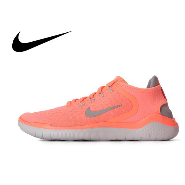7bc3a4cbd944 Nike Original 2018 NIKE FREE RN Women s Running Shoes Breathable  Comfortable Anti-slippery Sport Outdoor Low-top Sneakers 942837