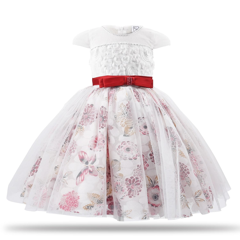 1c1ea0e02 CAILENI Girls Dress Flower Children Party Dresses Elegant Floral ...