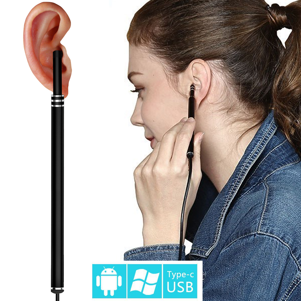 New Multifunctional USB Ear Cleaning Tool HD Visual Ear Spoon With Mini Camera Pen Ear Care In-ear Cleaning Endoscope