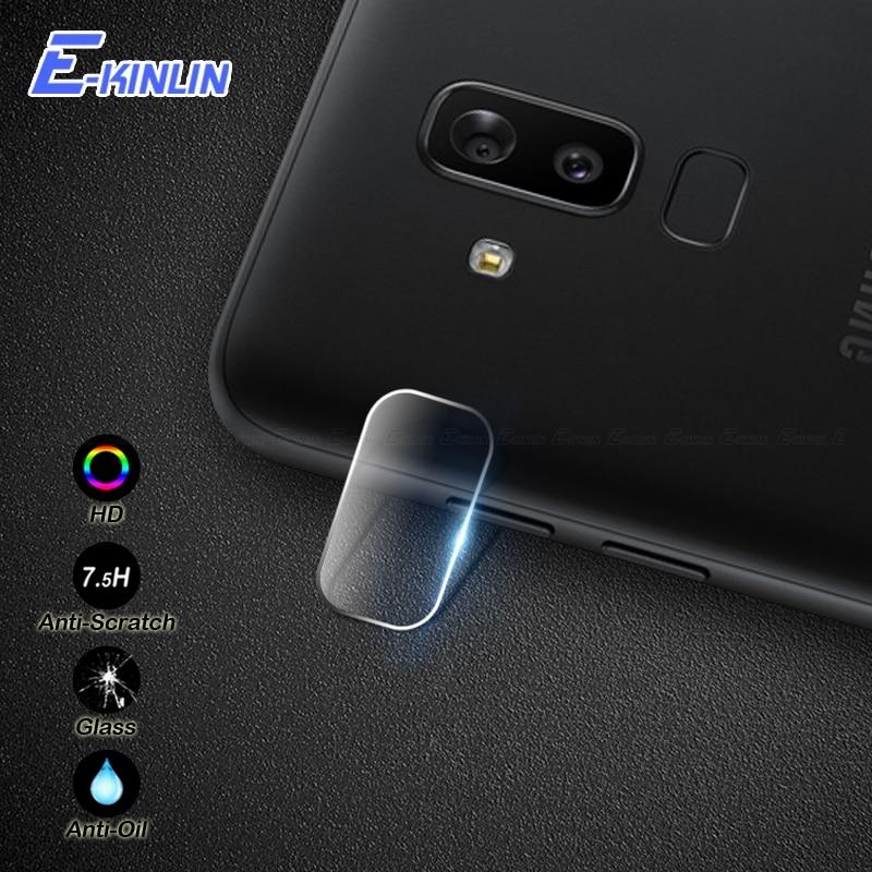 Cámara lente de protección de vidrio templado película del Protector para Samsung Galaxy J8 J2 J3 J4 J6 más J5 J7 Pro max 2018 de 2017 de 2016