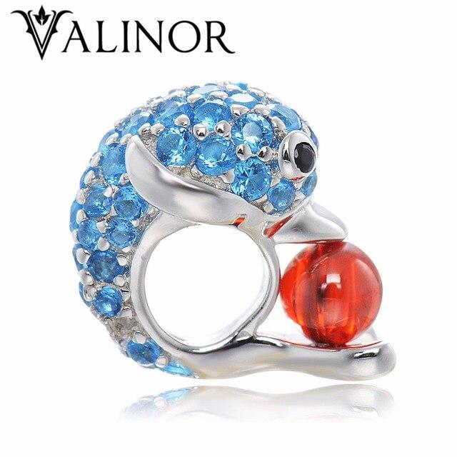 Dolphin 925 Sterling Platina Banhado A Prata beads encantos fit Pulseiras & Bangles Nunca mudam de cor DDBJ049
