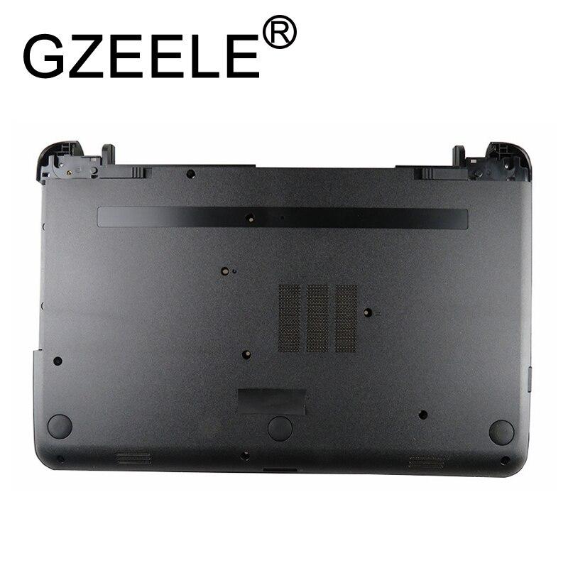 GZEELE New For HP 250 255 256 G3 15-G 15-H 15-R 15-T 15-Z 15-G001XX 15-R030WM Laptop Bottom Base Case Cover Lower Black
