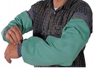 Fr algodão soldador vestuário chama-retardador luvas de soldagem