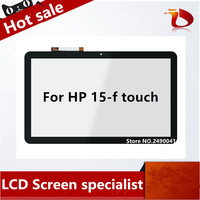New original with frame 15.6 Touch Screen digitizer Glass For HP Pavilion Touchsmart 15 F series 15 F010DX 15 F162DX