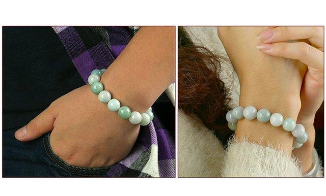 Bracelet Jade Femme
