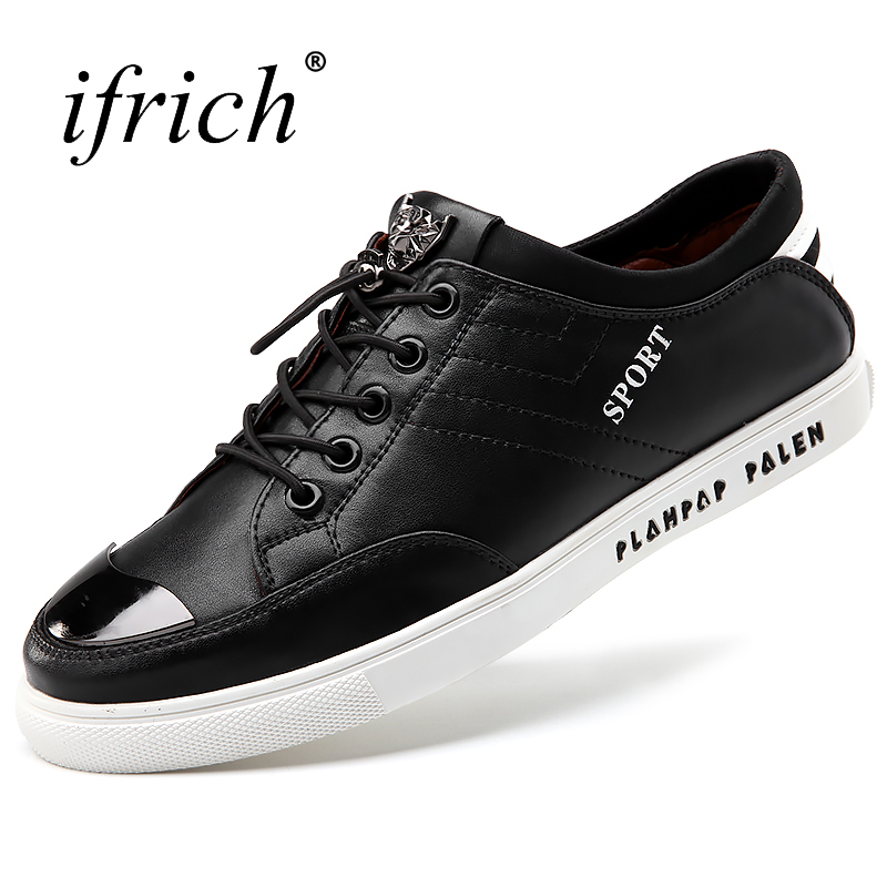 Mens Shoes Genuine Leather Comfortable Male Casual Flat Footwear Black Lace Up Shoes Men Fashion Luxury Brand Cheap blaibilton men casual shoes luxury brand genuine leather flat fashion designer breathable mens shoes casual male footwear sd6219