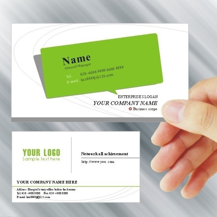 Printing business cards, two sided four color business card printing ...