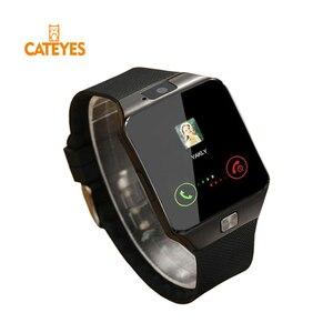 Умные часы с слотом для sim-карты, с поддержкой Bluetooth, Android Phone, лучше, чем мужские часы DZ09