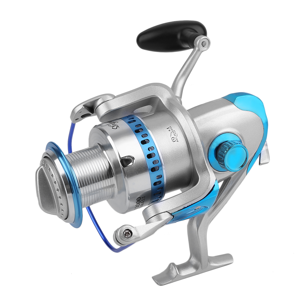 OUTAD High Speed Gear Ratio 4.5:1 SB10000 Spin Reel Saltwater Sea Fishing Reels Heavy Duty 9+1 Ball Bearings USA Shipping free shipping by ems fishing reels baitcasting reel daiwa megaforce ths gear ratio 7 3 1 six ball bearings right