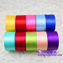 5 cm wide ribbon 16-cent polyester packaging for Festival wedding scene decoration  chair back bow