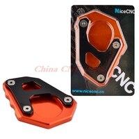 NICECNC Kickstand Side Stand Enlarger Plate Pad For KTM 1050 1090 1190 1290 Adventure 2013 2014