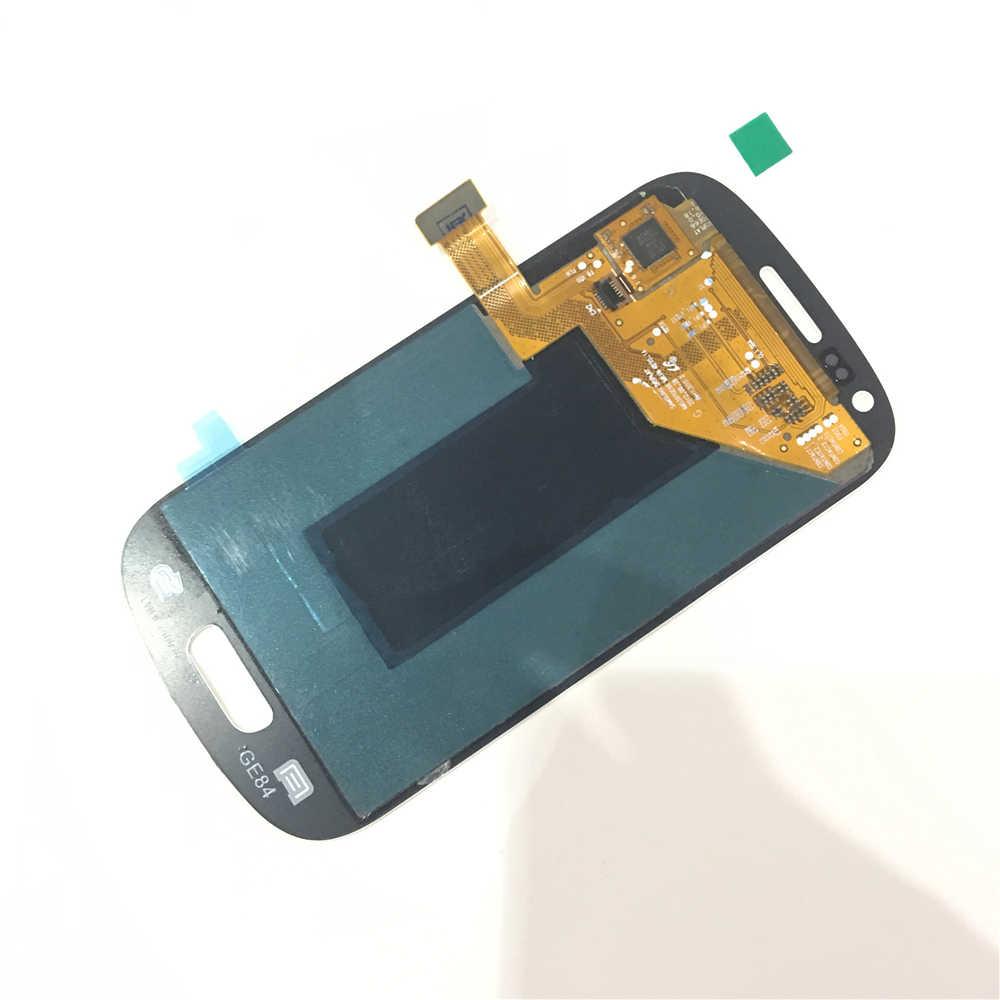 Pantalla LCD de 4,0 pulgadas para Samsung Galaxy S3 Mini i8190 GT-i8190 i8195 i8200 pantalla LCD + MONTAJE DE digitalizador de pantalla táctil