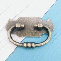 6pcs Vintage Bronze Kitchen Cupboard Door Cabinet Cupboard Handle 60mm hole Retro Funiture Knobs and Handles